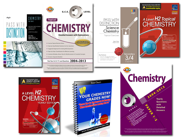 Chemistry Books by Sean Chua