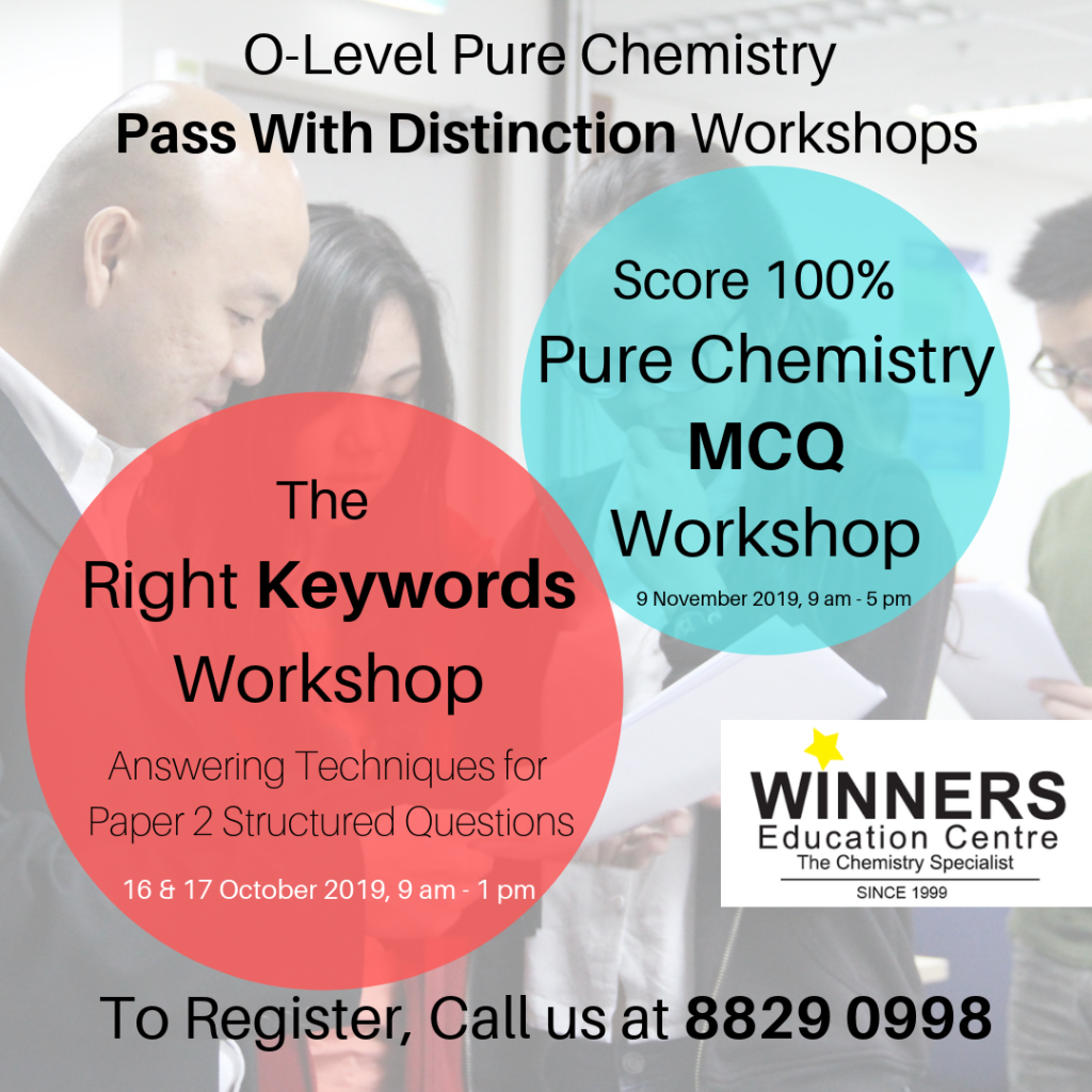 O-Level-Pure-Chemistry-Pass-With-Distinction-Workshops