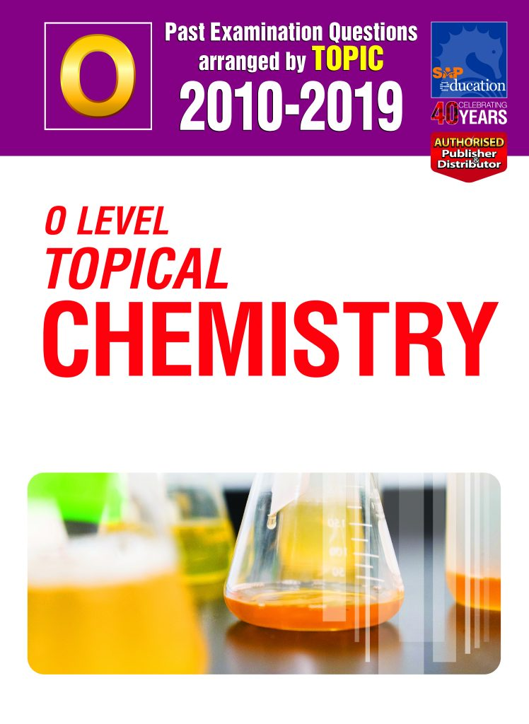 O Level Pure Chemistry Topical Edition Ten Year Series by Mr Sean Chua