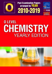 O Level Pure Chemistry Yearly Edition Ten Year Series by Mr Sean Chua